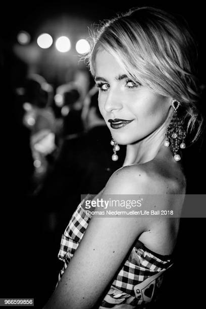 Caro Daur attends the LIFE Solidarity Gala prior to the Life Ball 2018 at City Hall on June 2 2018 in Vienna Austria The Life Ball an annual charity...