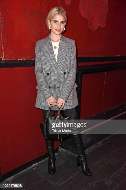 Caro Daur attends the Stella McCartney X UZWEI Spring/Summer 2019 Collection Launch Party at Gruenspan Club on October 18 2018 in Hamburg Germany