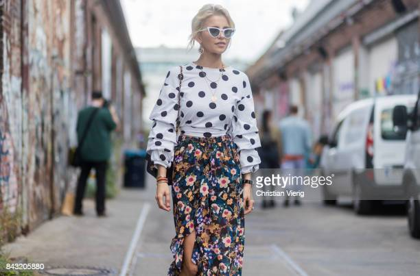 Caro Daur during the Bread Butter by Zalando 2017 at arena Berlin on September 03 2017 in Berlin Germany