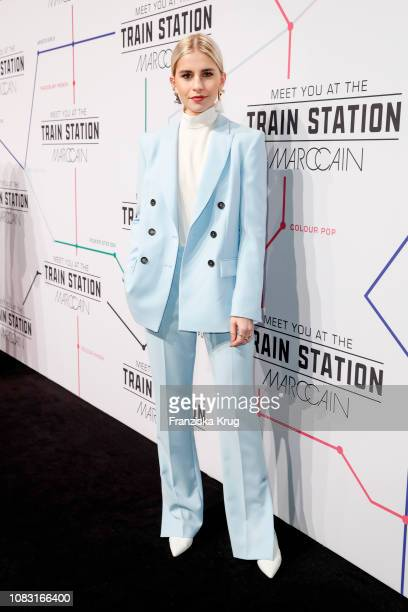 Caro Daur during the Marc Cain Fashion Show Autumn/Winter 2019 at Deutsche Telekom's representative office on January 15 2019 in Berlin Germany