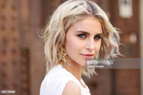 Caro Daur during the New York Fashion Week on September 09 2017 in New York