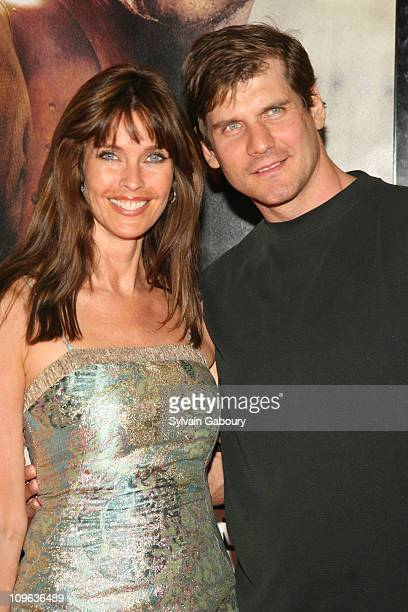 Carol Alt and Alexi Yoshin during Live Free or Die Hard New York City Primiere Arrivals at Radio City Music Hall at 1260 Avenue of the Americas in...