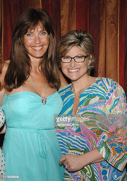 Carol Alt and Ashleigh Banfield during Sicko New York City Premiere Reception at Ziegfeld Theater in New York City New York United States