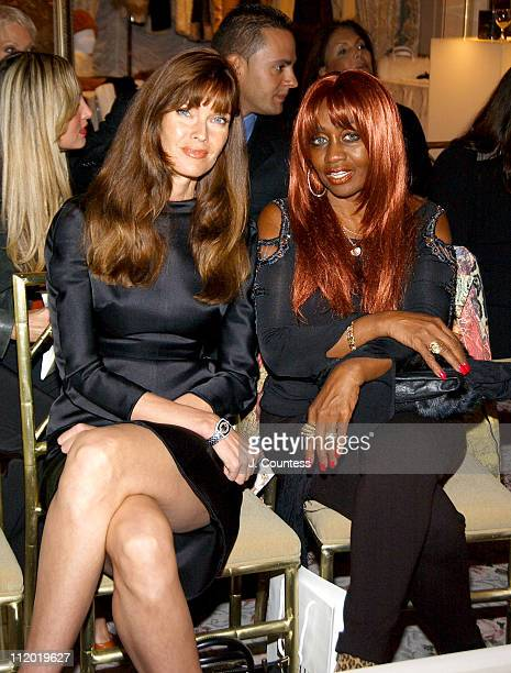 Carol Alt and Janice Combs during Chie Imai Chie Chic Fashion Show to Benefit the Christopher Reeve Paralysis Foundation Front Row and Cocktail...