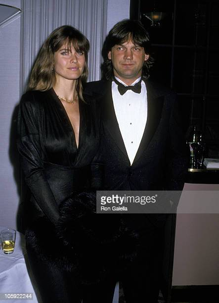 Carol Alt and Ron Greschner during 16th Annual Fragrance Foundations Recognition Awards at Waldorf Hotel in New York City New York United States