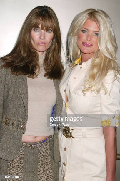Carol Alt and Victoria Silvstedt during Dressed to Kilt A Scottish Evening of Fashion and Fun Arrivals and Backstage at Copacabana in New York City...