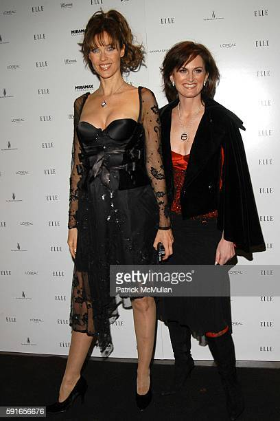Carol Alt and Wendy Pepper attend ELLE Magazine Hosts Viewing Party for 2nd Season Premiere of Bravo's EmmyNominated 'Project Runway' and Launch of...