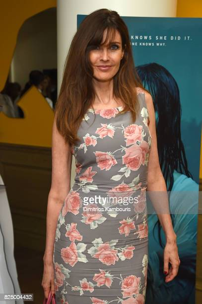 Carol Alt attends the After Party for The Sinner Series Premiere Screening at Crosby Street Hotel on July 31 2017 in New York City