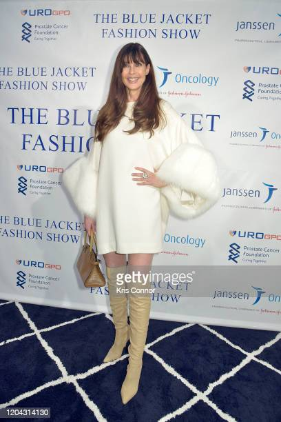 Carol Alt attends The Blue Jacket Fashion Show during NYFW at Pier 59 Studios on February 05, 2020 in New York City.