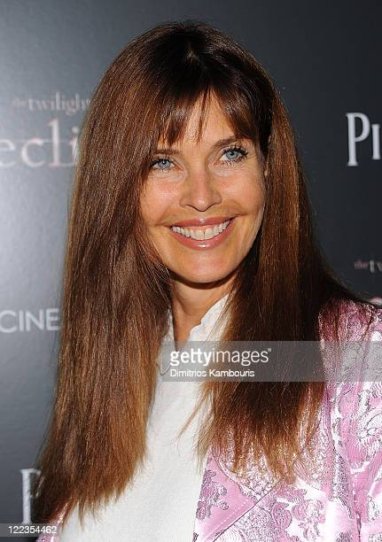Carol Alt attends The Cinema Society Piaget host a screening of The Twilight Saga Eclipse at the Crosby Street Hotel on June 28 2010 in New York New...