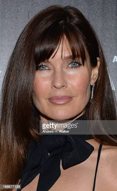 Carol Alt attends the Cinema Society screening of Pain And Gain at Crosby Street Hotel on April 15 2013 in New York City