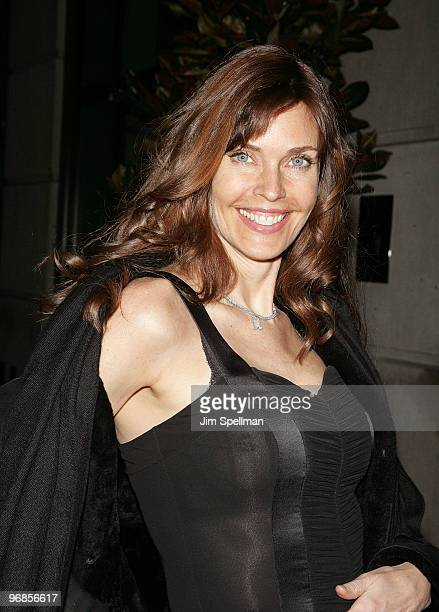 Carol Alt attends the Cinema Society Screevision screening of The Ghost Writer at the Crosby Street Hotel on February 18 2010 in New York City