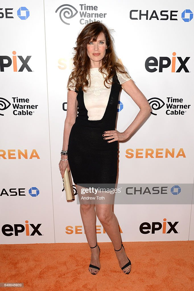 Carol Alt attends the premiere of EPIX original documentary 'Serena' at SVA Theater on June 13, 2016 in New York City.