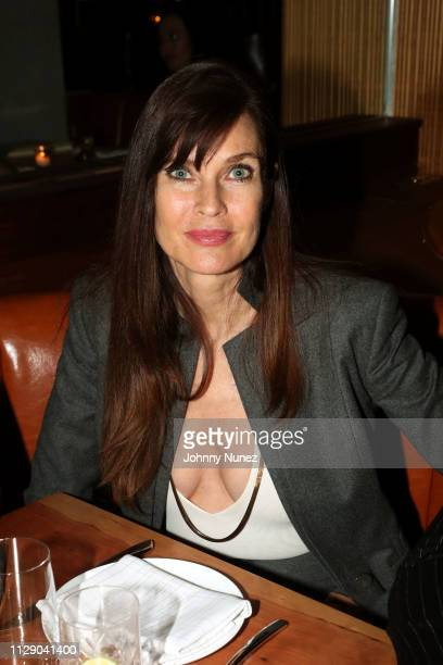 """Carol Alt attends the """"Real Housewives Of New York City"""" premiere screening at Pomona on March 6, 2019 in New York City."""