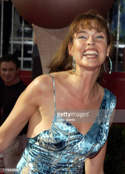Carol Alt during 2002 ESPY Awards Arrivals at The Kodak Theater in Hollywood California United States