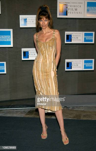 Carol Alt during 2003 Tribeca Film Festival Down With Love After Party at The Winter Garden in the World Financial Center in New York City New York...