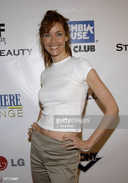 Carol Alt during 3rd Annual Tribeca Film Festval Premiere Lounge Stage Beauty Premiere After Party at 323 Lounge in New York City New York United...