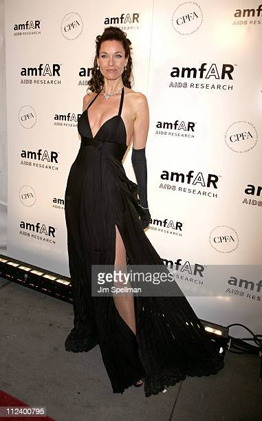 Carol Alt during AmfAR New York City Gala Honoring John Demsey Whoopi Goldberg and Bill Roedy Arrivals at Cipriani 42nd Street in New York City New...