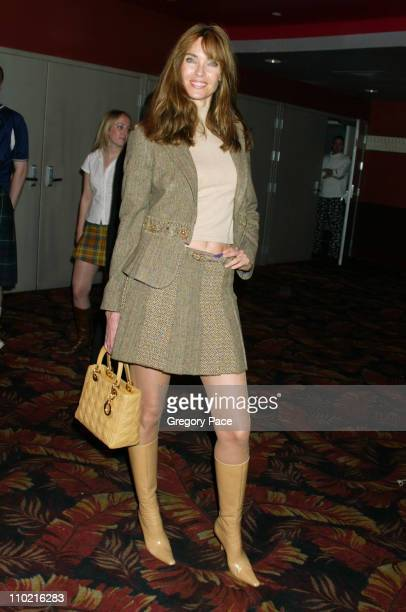 Carol Alt during Dressed to Kilt A Scottish Evening of Fashion and Fun Arrivals and Backstage at Copacabana in New York City New York United States