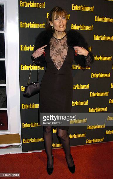 Carol Alt during Entertainment Weekly 11th Annual Oscar Viewing Party at Elaines Restaurant in New York City New York United States