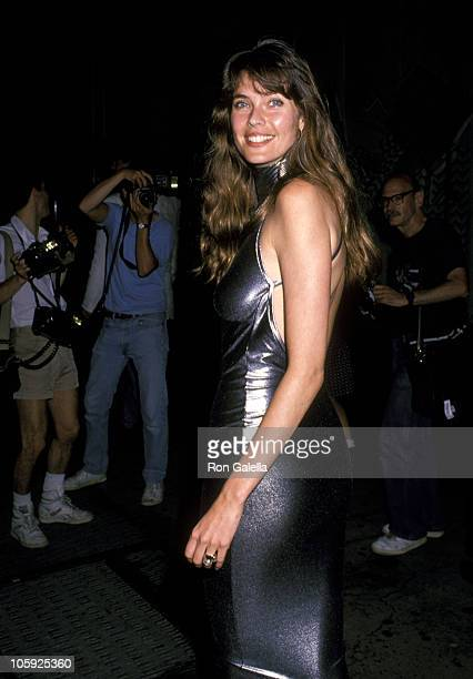 Carol Alt during 'Great Balls of Fire' New York Premiere in New York City New York United States