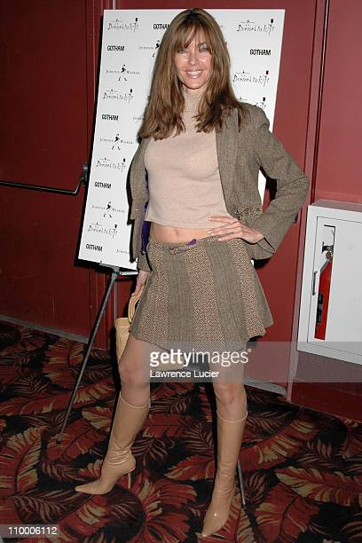 Carol Alt during Johnnie Walker Presents Dressed to Kilt Arrivals and Runway at Copacabana in New York City New York United States