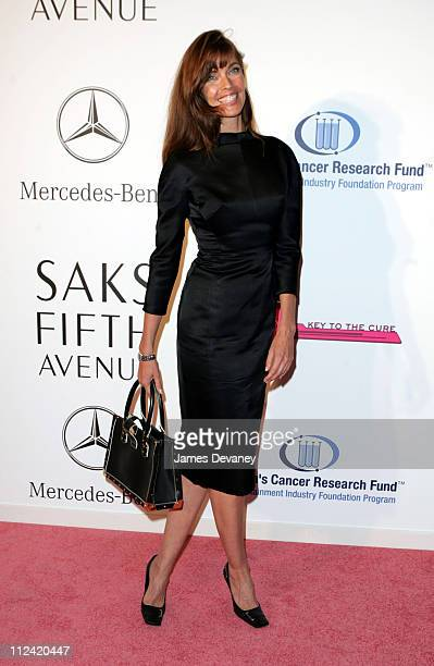 Carol Alt during Key to the Cure Launch by Saks Fifth Avenue at Gotham Hall in New York City, New York, United States.
