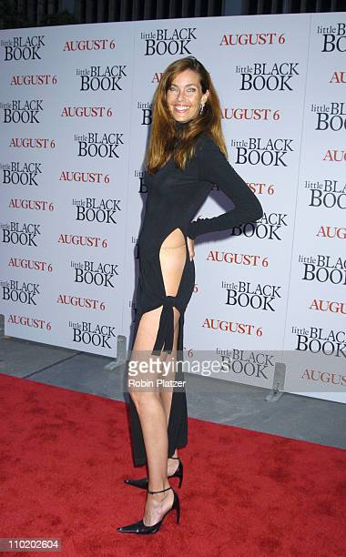 Carol Alt during Little Black Book New York Premiere Arrivals at Ziegfeld Theater in New York City New York United States