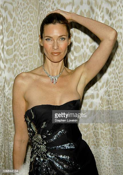 Carol Alt during Roberto Cavalli Hosts a Preview Gala for the Metropolitan Museum's WILD Fashion Untamed Arrivals at Metropolitan Museum of Art in...