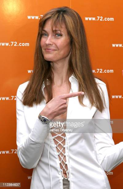 Carol Alt during The 72 Names of God By Kabbalist Rabbi Yehuda Berg at New Museum of Contemporary Art in New York New York United States