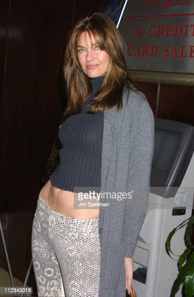 Carol Alt during The Cat's Meow New York City Premiere at Beekman Theater in New York City New York United States
