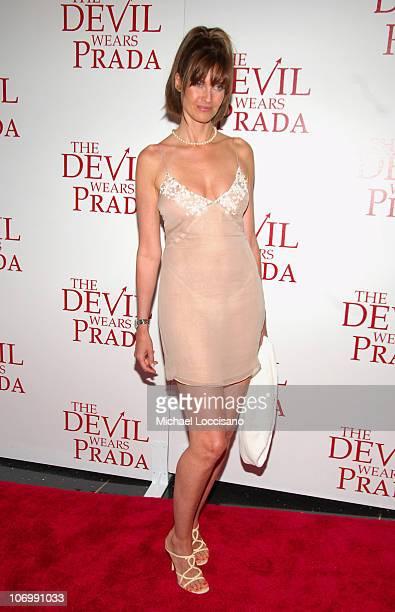 Carol Alt during The Devil Wears Prada New York Premiere Arrivals at AMC Loews Lincoln Square in New York City New York United States