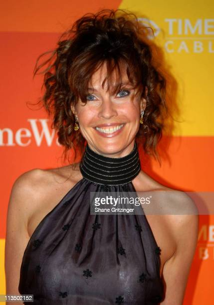 Carol Alt during Time Warner Cable Presents the Home To The Future Exhibit with Tony Bennett at Time Warner Center in New York City New York United...
