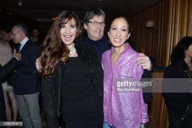 Carol Alt Paul von Ravenstein and Pat Cleveland attend MAC Nordstrom And The CFDA Host The After Party For The Times Of Bill Cunningham at Bistrot...