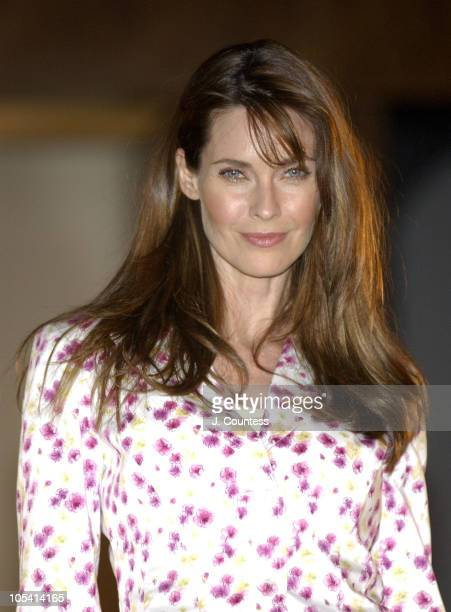 Carol Alt wearing Nicole by Nicole Miller during Nicole by Nicole Miller Fashion Show Presented by JCPenney Runway at The Four Season in New York...