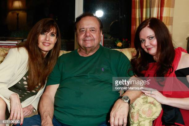 Carol Alt with Paul Sorvino and his wife Dee Dee Sorvino during the Paul Dee Dee Sorvino celebrate their new book Pinot Pasta Parties at 200 East...