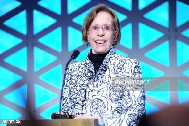 Carol Burnett accepts the Peabody Career Achievement Award on stage during The 77th Annual Peabody Awards Ceremony at Cipriani Wall Street on May 19...