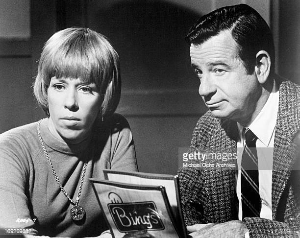Carol Burnett and Walter Matthau in a scene from the film 'Pete 'N' Tillie' 1972 Photo by Universal/Getty Images