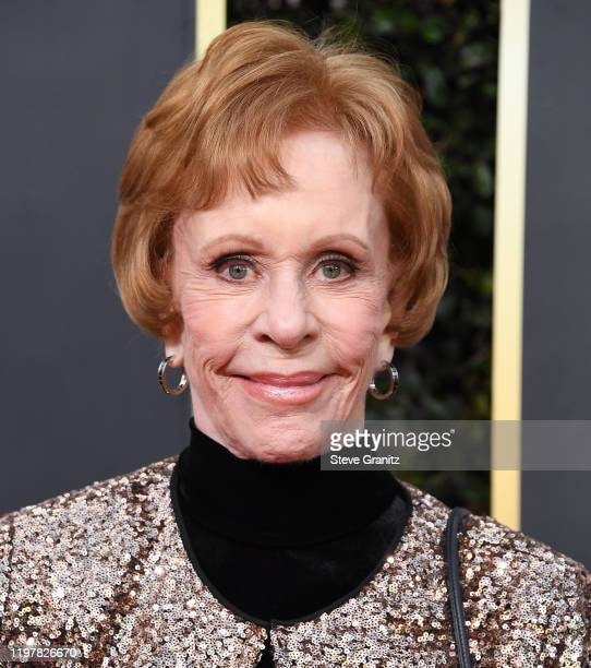 Carol Burnett arrives at the 77th Annual Golden Globe Awards attends the 77th Annual Golden Globe Awards at The Beverly Hilton Hotel on January 05,...