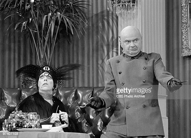 Carol Burnett as Nora Desmond and Harvey Korman on 'The Carol Burnett Show' March 1973