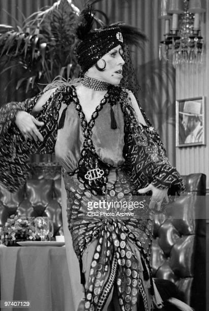 Carol Burnett as Nora Desmond on 'The Carol Burnett Show', March 1973.
