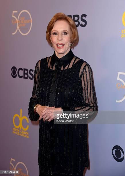 Carol Burnett attends CBS' The Carol Burnett Show 50th Anniversary Special at CBS Televison City on October 4 2017 in Los Angeles California