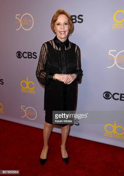 Carol Burnett attends CBS' The Carol Burnett Show 50th Anniversary Special at CBS Televison City on October 4 2017 in Los Angeles California
