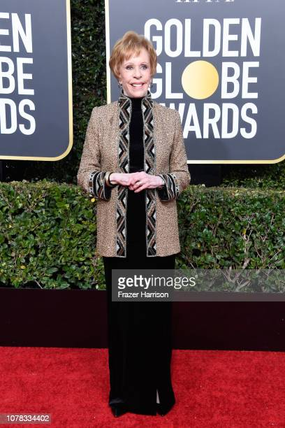 Carol Burnett attends the 76th Annual Golden Globe Awards at The Beverly Hilton Hotel on January 6 2019 in Beverly Hills California