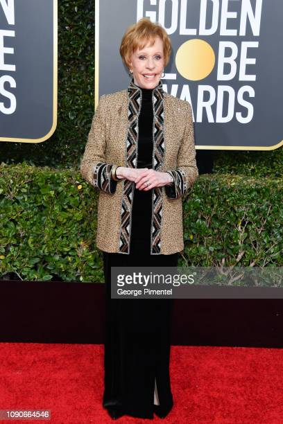 Carol Burnett attends the 76th Annual Golden Globe Awards held at The Beverly Hilton Hotel on January 06 2019 in Beverly Hills California