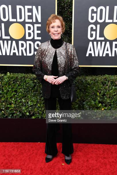 Carol Burnett attends the 77th Annual Golden Globe Awards at The Beverly Hilton Hotel on January 05 2020 in Beverly Hills California