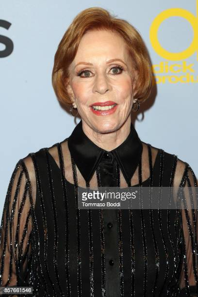 Carol Burnett attends the CBS' The Carol Burnett Show 50th Anniversary Special at CBS Televison City on October 4 2017 in Los Angeles California