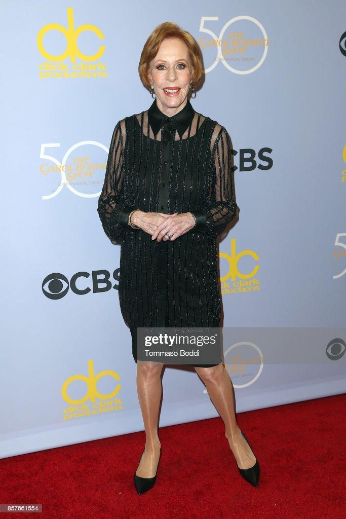 Carol Burnett attends the CBS' 'The Carol Burnett Show 50th Anniversary Special' at CBS Televison City on October 4, 2017 in Los Angeles, California.
