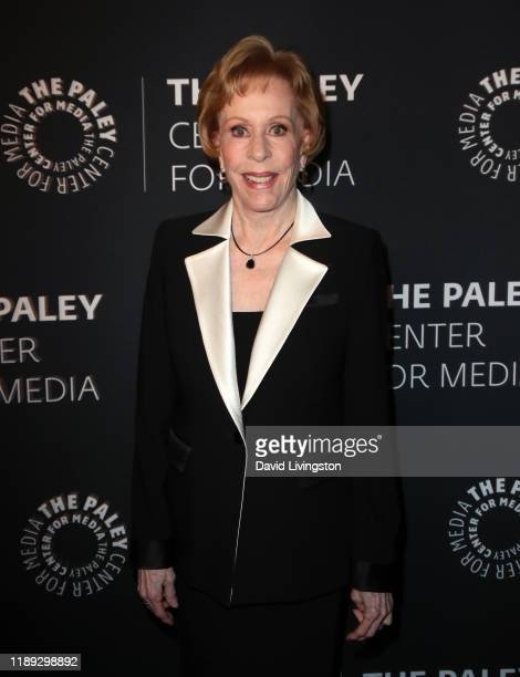 Carol Burnett attends The Paley Honors A Special Tribute To Television's Comedy Legends at the Beverly Wilshire Four Seasons Hotel on November 21...