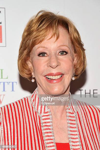 Carol Burnett attends the The Carol Burnett Show The Lost Episodes screening hosted by Time Life and The Cinema Society at The Roxy Hotel on...